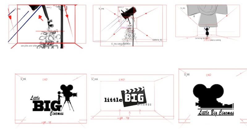 Animatics & Storyboarding